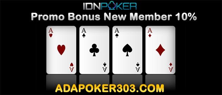 Promo Bonus New Member
